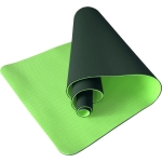 Коврик для йоги TPE 183х61х0,6 темно-зеленый (под заказ)
