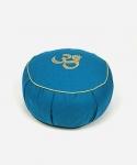 Подушка для медитации Сурья синяя фото