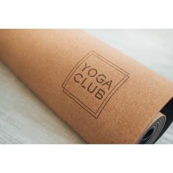 Коврик для йоги Пробка Лайт Yoga Club