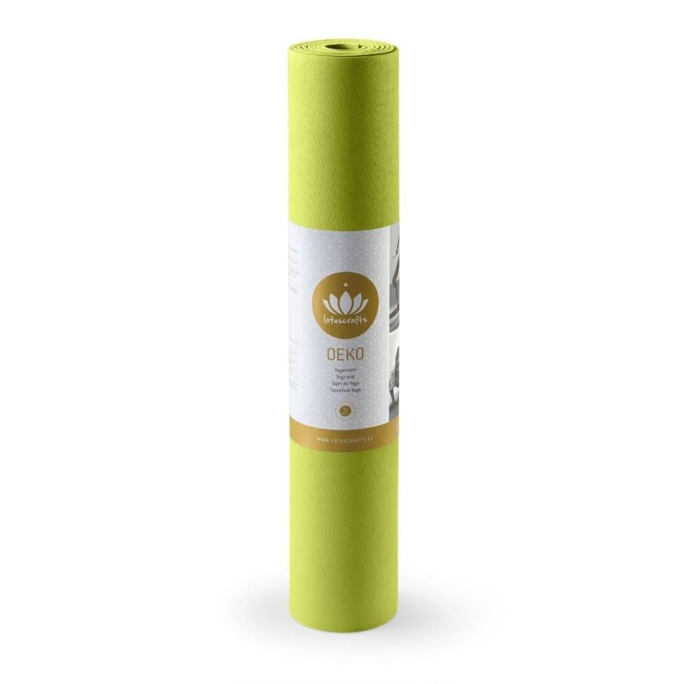 Коврик для йоги OEKO Bamboo (каучук), Lotuscrafts 4мм (под заказ)