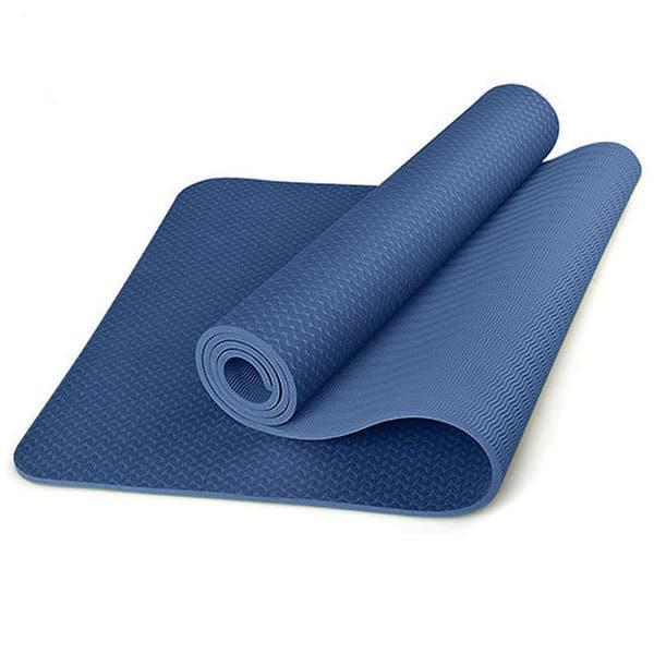 Коврик для йоги TPE 183х61х0,6 темно-синий (под заказ)