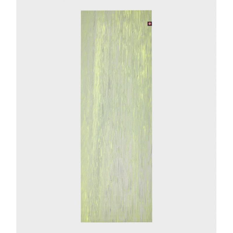 Коврик для йоги Manduka EKO SuperLite Travel Mat 1.5мм Limelight marbled