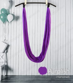 Гамак для йоги матовый нейлон без ручек