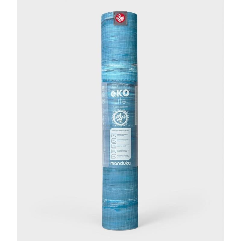Коврик для йоги Manduka EKO Lite Mat 4 мм Dresden Blue Marbled