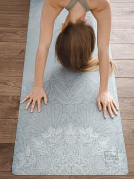 Коврик для йоги Travel Bali Green Yoga Club 1 мм