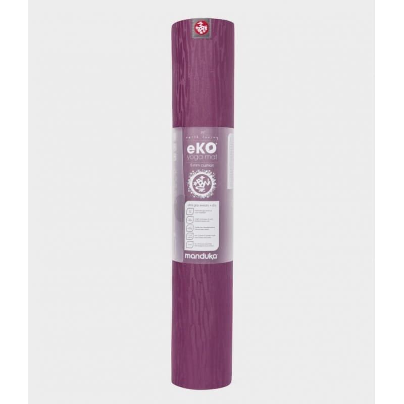 Коврик для йоги EKO Mat ACAI MIDNIGHT 5 мм 61х180 см Manduka из каучука (под заказ из СПб)
