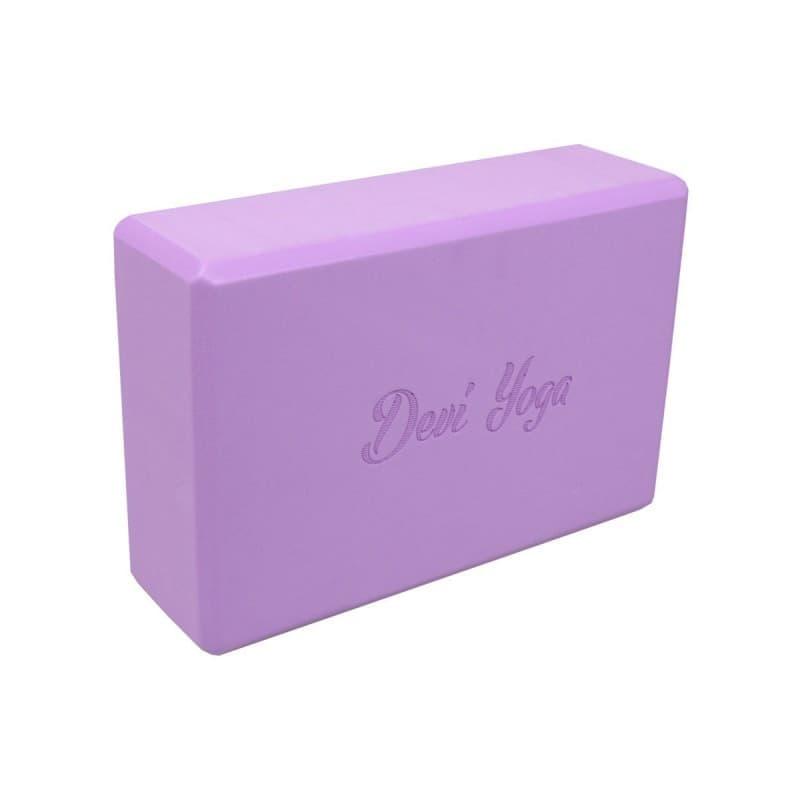 Блок (кирпич) для йоги из EVA пены Devi Yoga 7,5x15x23 (под заказ из СПб)