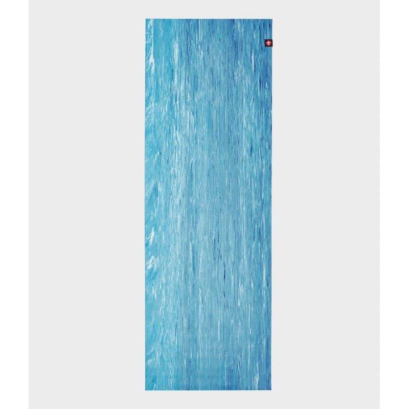 Коврик для йоги EKO SuperLite Travel Mat Dresden Blue marbled 1.5x61x180 Manduka из каучука (под заказ из СПб)