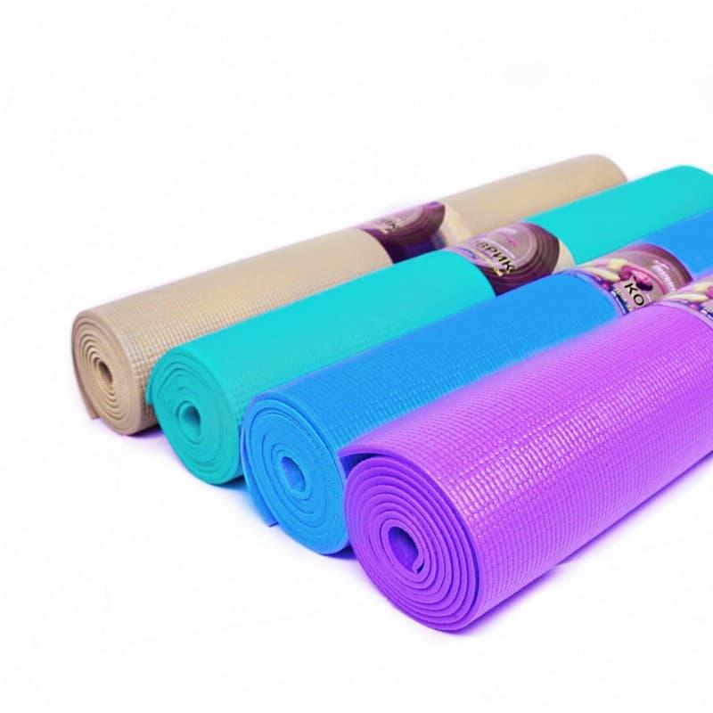 Коврик для йоги Лайт 5 мм 61х173 см V-Line из ПВХ (под заказ из СПб)