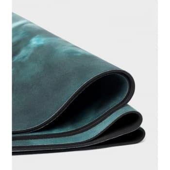 Коврик для йоги eQua eKO Round Yoga Mat Luna Night 3x150 Manduka из каучука + микрофибра (под заказ из СПб)