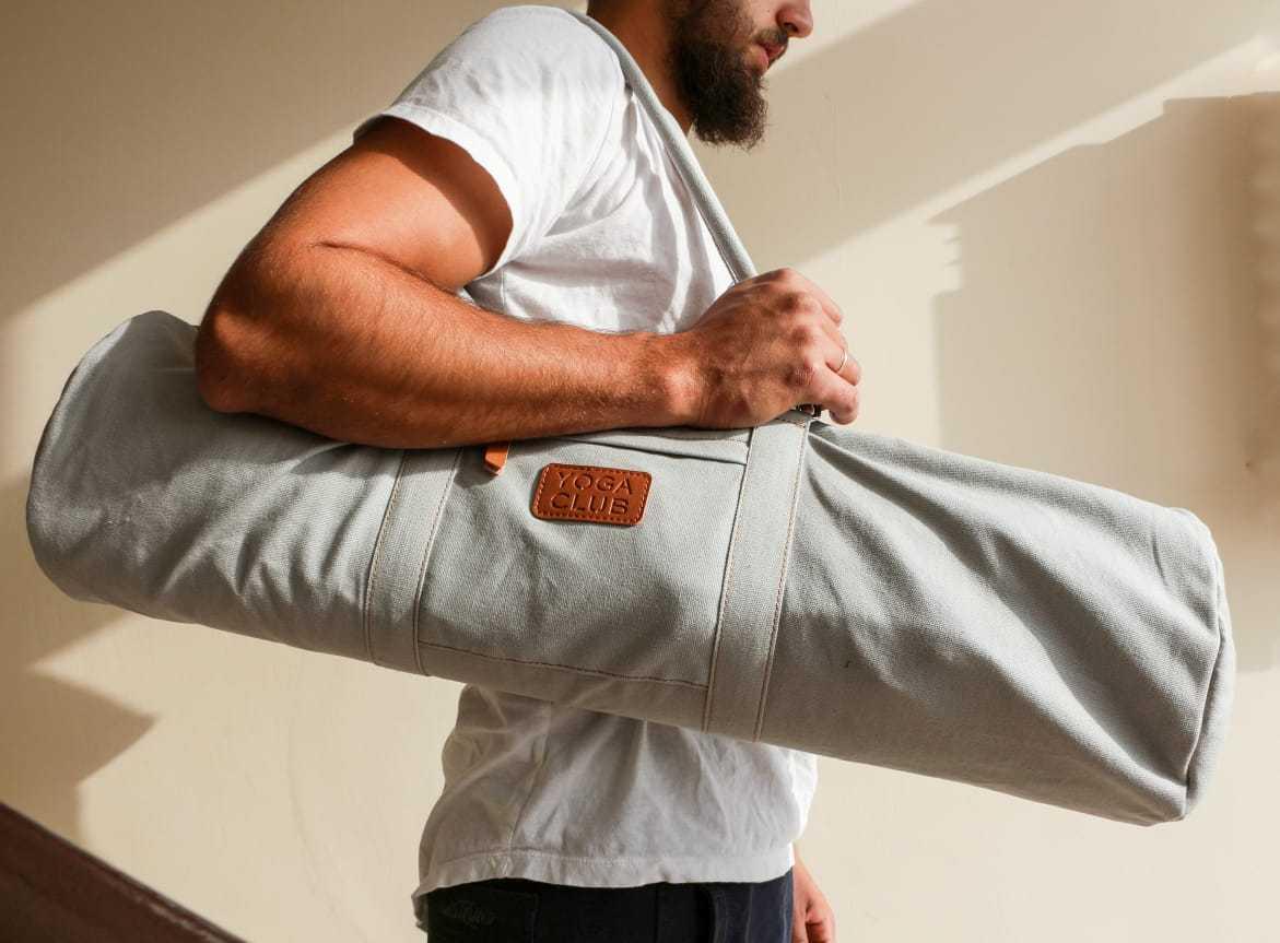 Сумка хлопковая для йога коврика Yoga Club