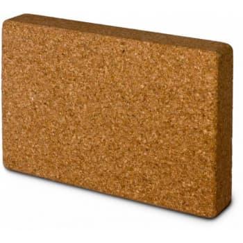 Блок (кирпич) для йоги пробковый 5х20,5х30,5 (под заказ из СПб)