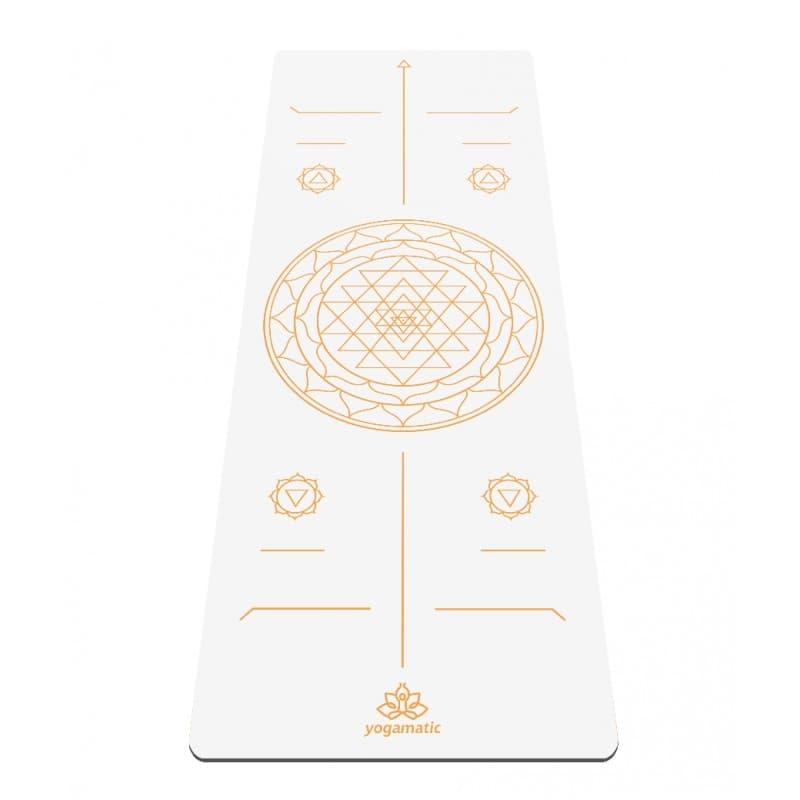 Коврик для йоги Sri Yantra Gold ART yogamatic фото