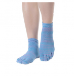 Носочки c пальчиками для йоги Health Yoga (под заказ)_4