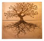 Доска Садху с гвоздями «Древо жизни» цинк заказать