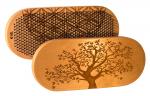 Доска Садху с гвоздями «Древо жизни» овал цинк из дерева