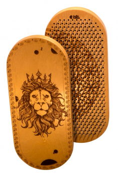 Доска Садху с гвоздями «Лев» медные гвозди заказать