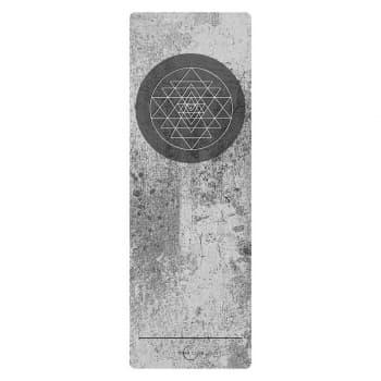 Коврик для йоги SRI YANTRA  3x61x183 Yoga Club из микрофибры+каучук (под заказ из СПб)