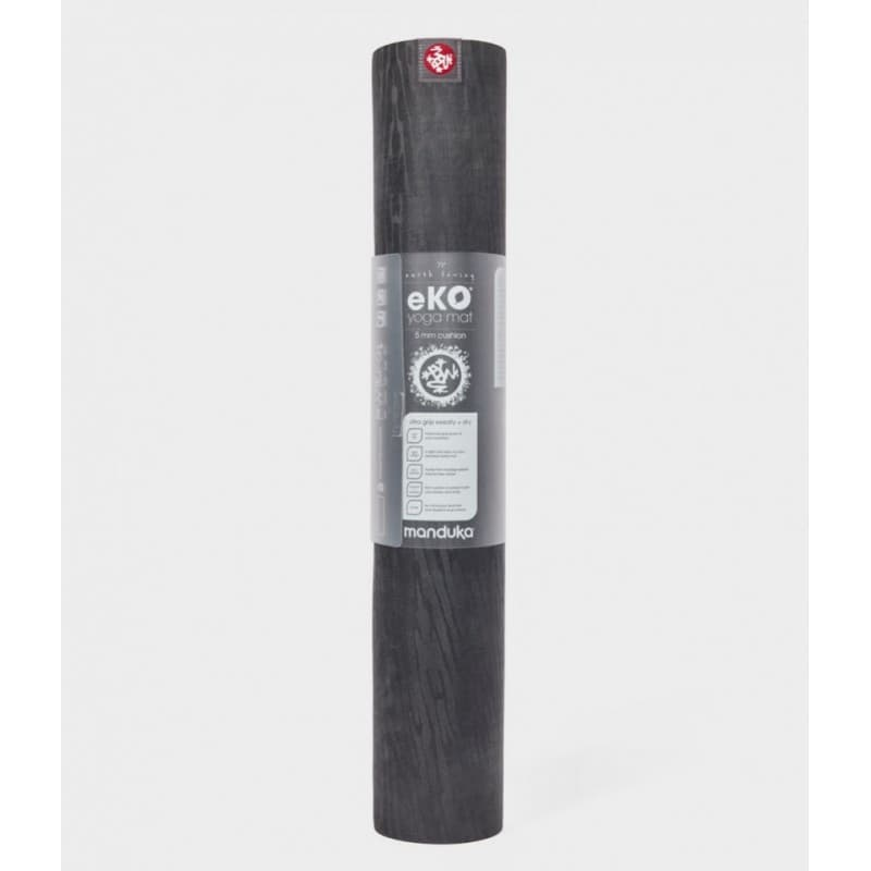Коврик для йоги EKO Lite Mat CHARCOAL 4 мм, 61х180 см Manduka  из каучука