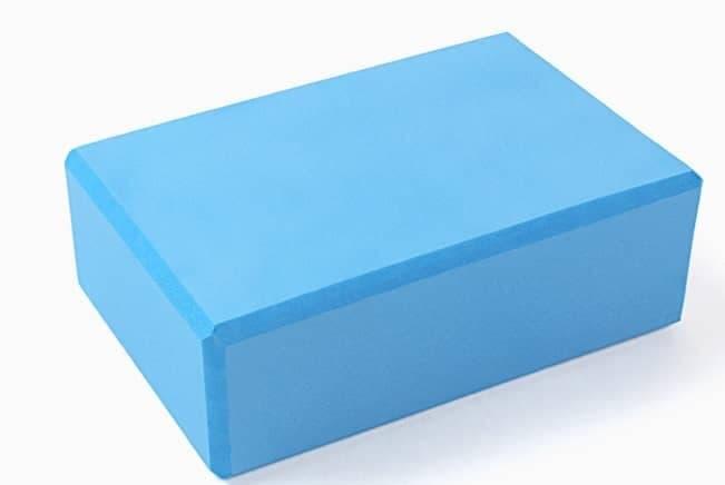 Блок (кирпич) для йоги из EVA пены 8х15х23