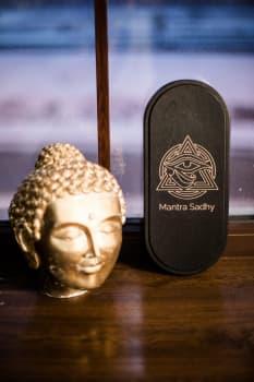 Йога доска с гвоздями Mantra sadhy Овал Цинк (под заказ из СПб)