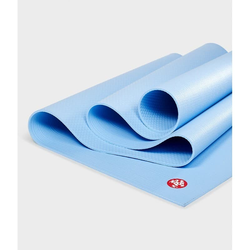 Коврик для йоги PROlite Mat Clear Blue 4,7 мм 61х180 см Manduka из ПВХ (под заказ из СПб)