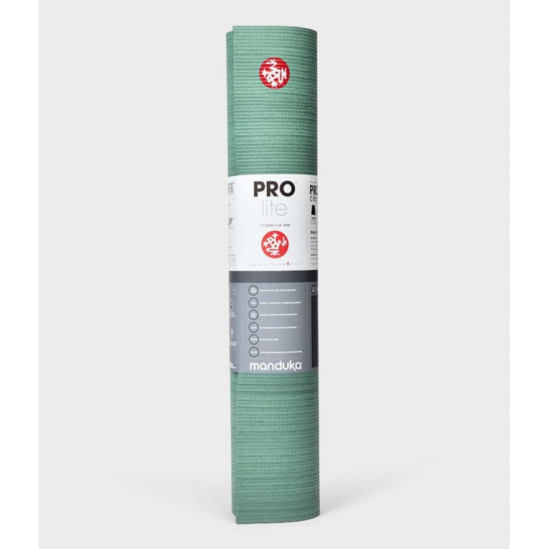 Коврик для йоги PROlite Mat Colorfields Green Ash 4,7 мм Manduka з ПВХ (под заказ из СПб)