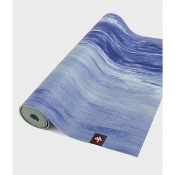 Коврик для йоги EKO Lite Mat Surf Marbled 4 мм, 61х180 см Manduka  из каучука