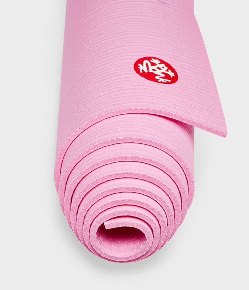 Коврик для йоги PRO Mat FUCHSIA 6 мм 66х180 см Manduka из ПВХ (под заказ из СПб)