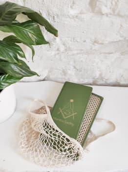 Йога доска с гвоздями Mantra sadhy Цинк Зелёная