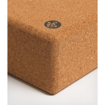 Блок (кирпич) для йоги пробковый 10х15х23 Cork Block Manduka